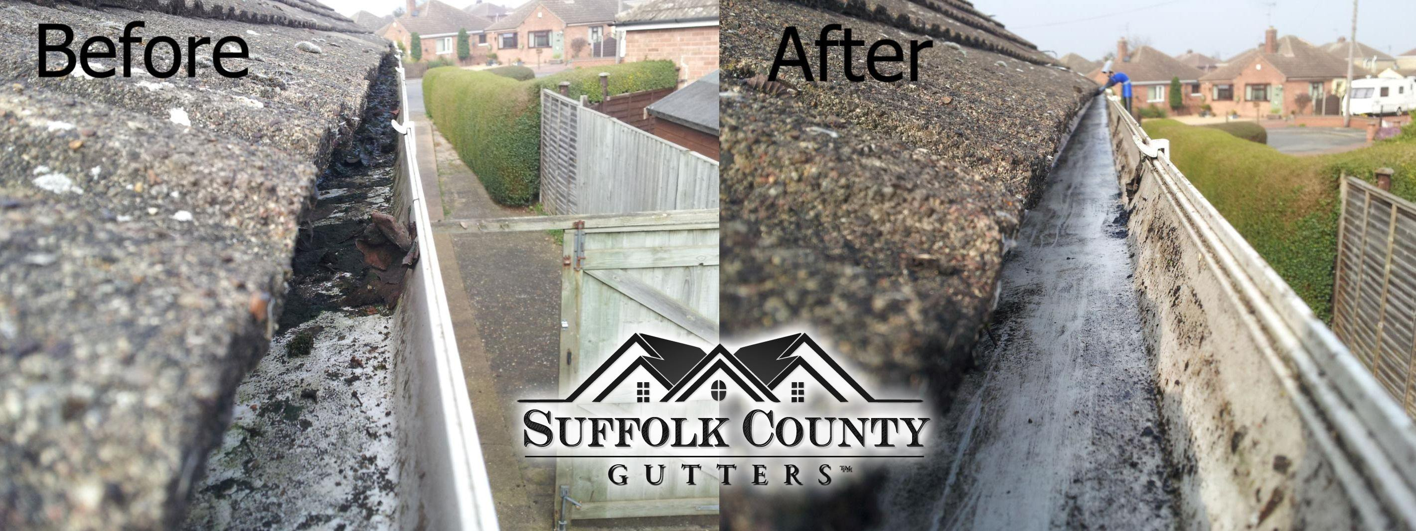 suffolk nassau gutter cleaning